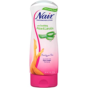 Amazon Com Nair Hair Aloe Lanolin Hair Removal Lotion 9 0 Oz