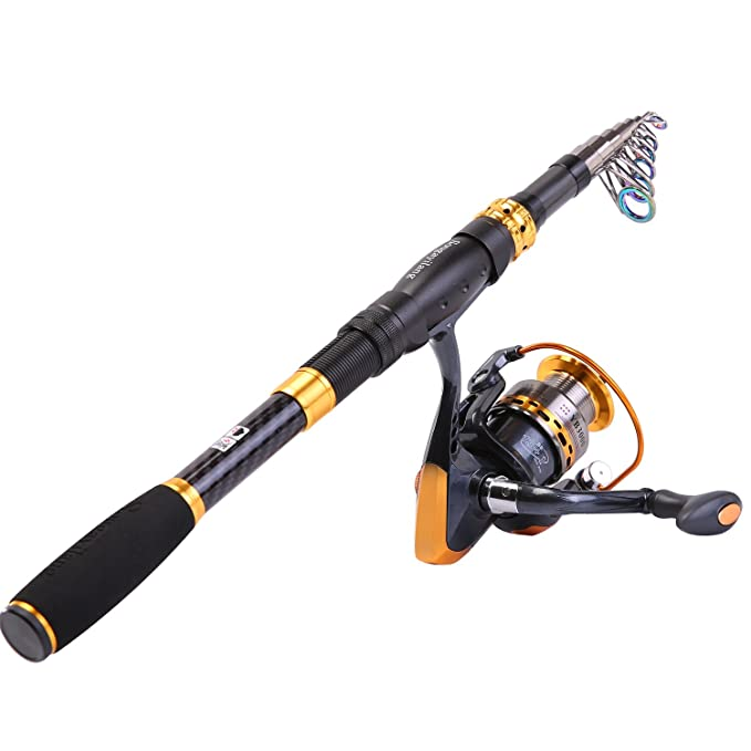Review Sougayilang Fishing Rod Reel