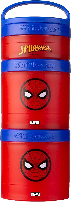 Whiskware Marvel Stackable Snack Pack, Spider-Man