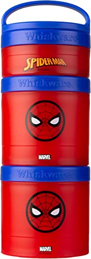 Whiskware Stackable Snack Pack, Spider-Man
