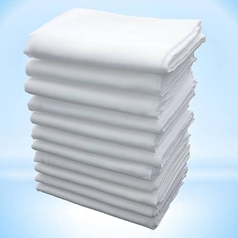 Paños de gasa, toallas de gasa 5 piezas de 70 x 70 cm con borde
