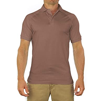 Comfortably Collared Men s Perfect Slim Fit Short Sleeve Soft Fitted Polo  Shirt 27c99c0c3