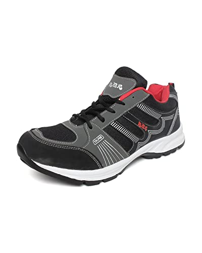 24cfbe833bd9d Extavo Men Big Size Adr Black Red Running Sports Shoes: Buy Online at Low Prices  in India - Amazon.in