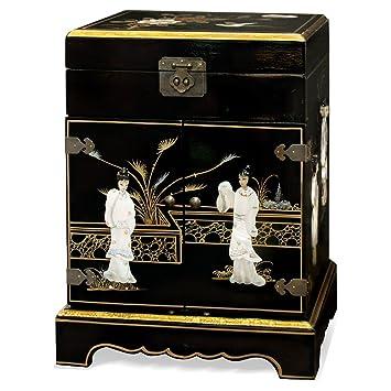 Amazoncom China Furniture Online Chinoiserie Jewelry Cabinet