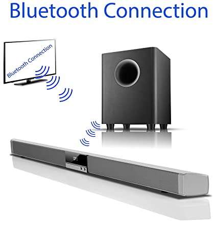 Boytone BT 888 Audio 39 Inch 80W Bluetooth Sound Bar With Subwoofer Home Theater