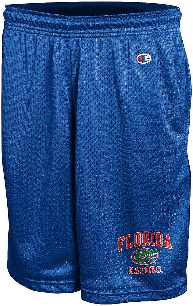 Elite Fan Shop Florida Gators Mesh Shorts L Blue