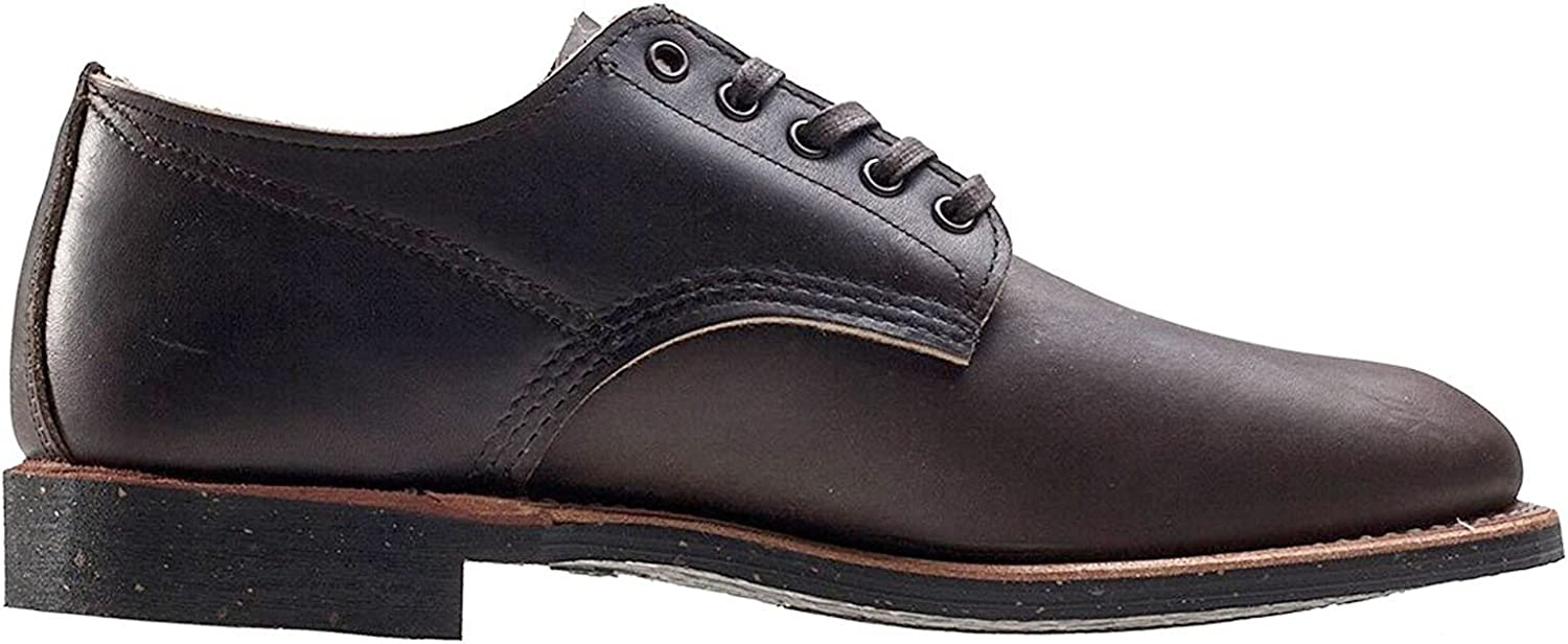 Red Wing Mens Merchant Oxford 8044 Ebony Leather Shoes 42.5 EU