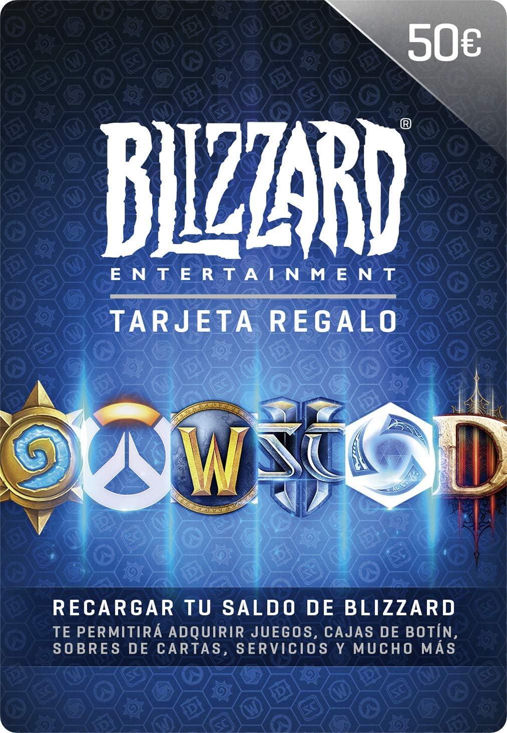 Tarjeta regalo de Blizzard 50 EUR   Código para PC
