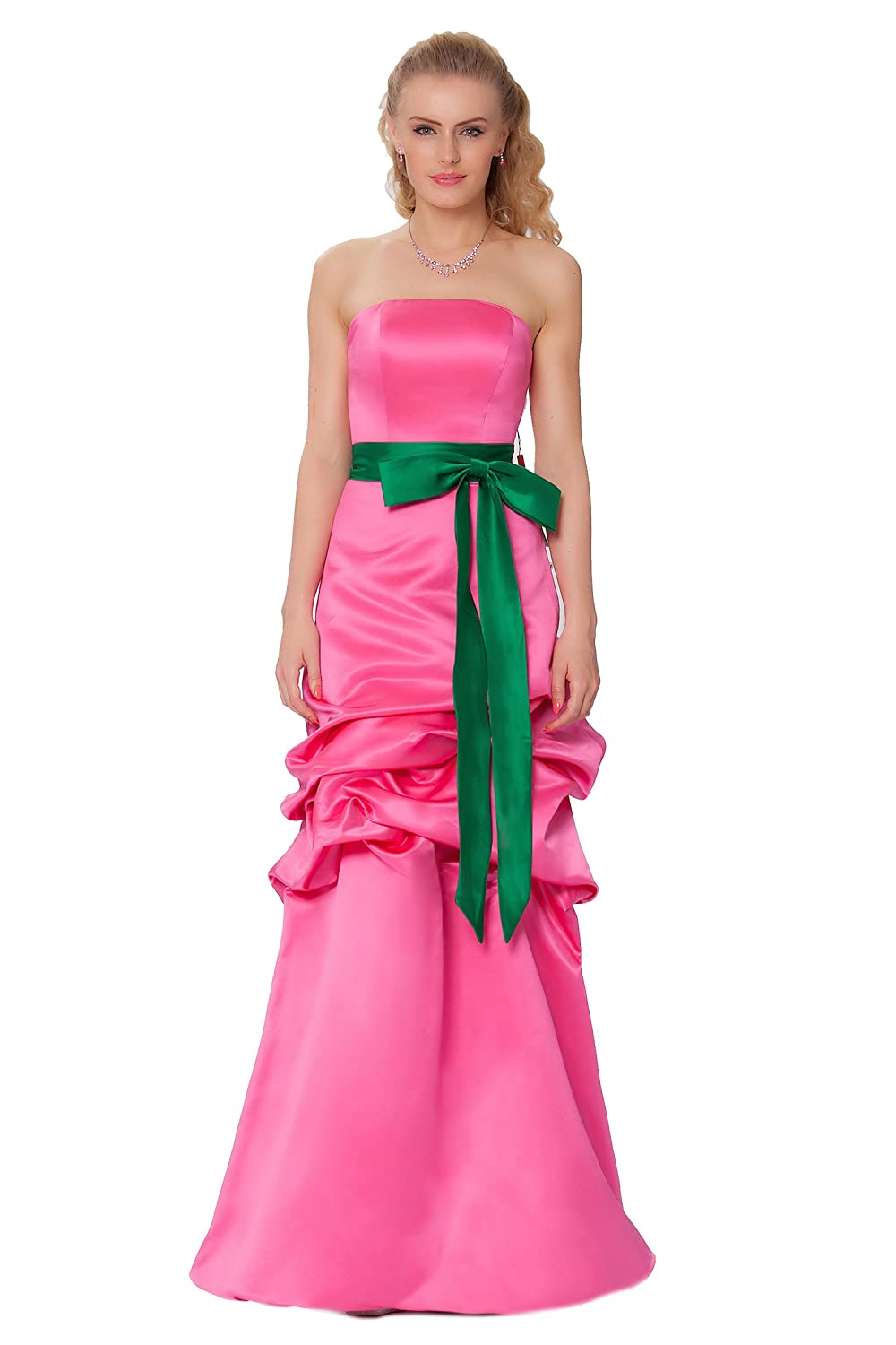 SEXYHER Gorgeous Full Length Strapless Bridesmaids Formal Evening Dress - EDJ1573
