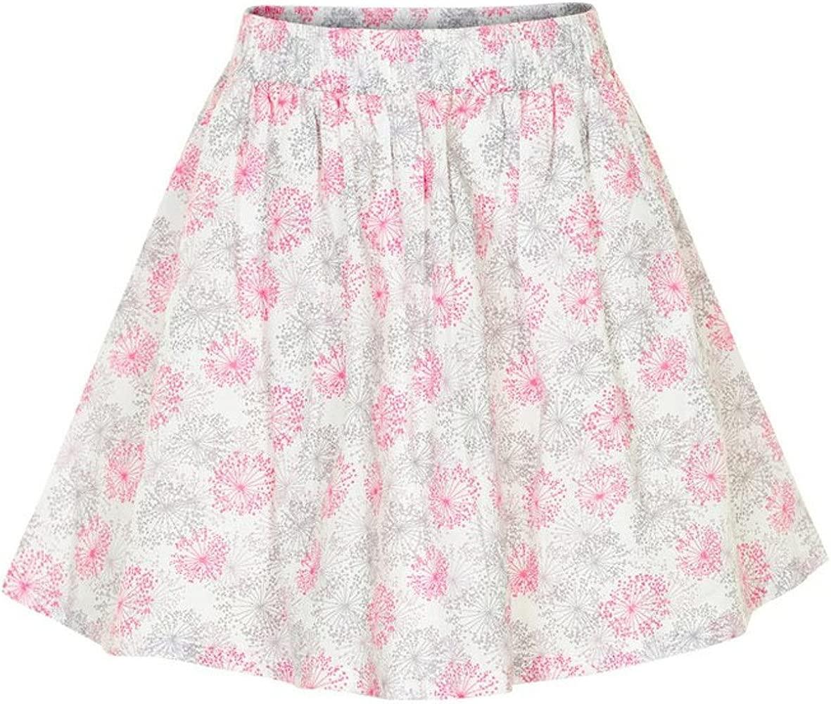 Creamie - Falda - rock - para niña multicolor Weiß, Grau, Rosa 146 ...