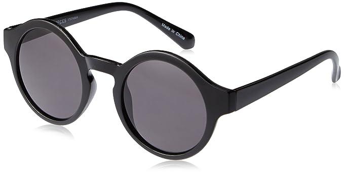 PIECES PCBEANETT SUNGLASSES - gafas de sol Mujer, Negro ...