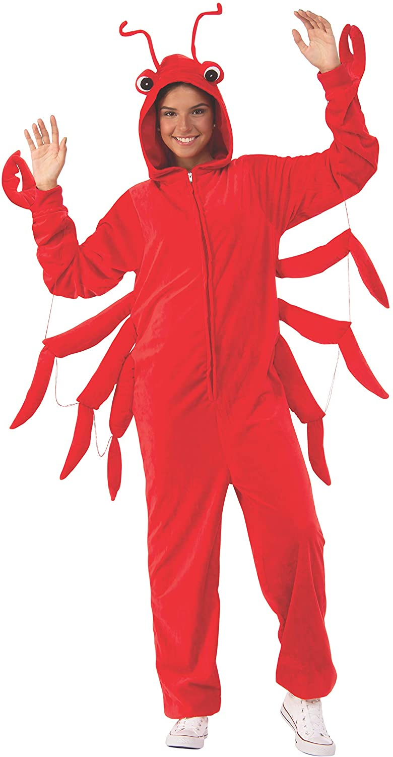 Rubie's Unisex-Adult's Opus Collection Comfy Wear Lobster Costume