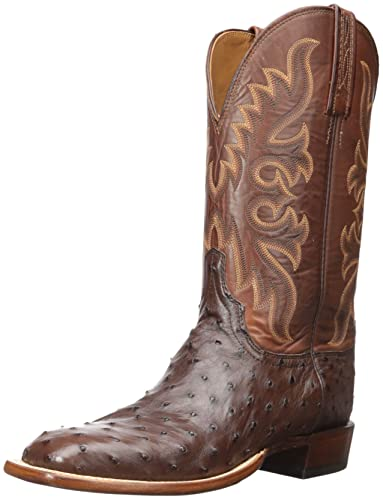 d41935e9dd1 Lucchese Bootmaker Men's Harmon Western Boot, Sienna/tan Burnished, 10 2E US