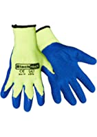 Blackrock Men's Thermal Gripper Gloves Blue/Yellow