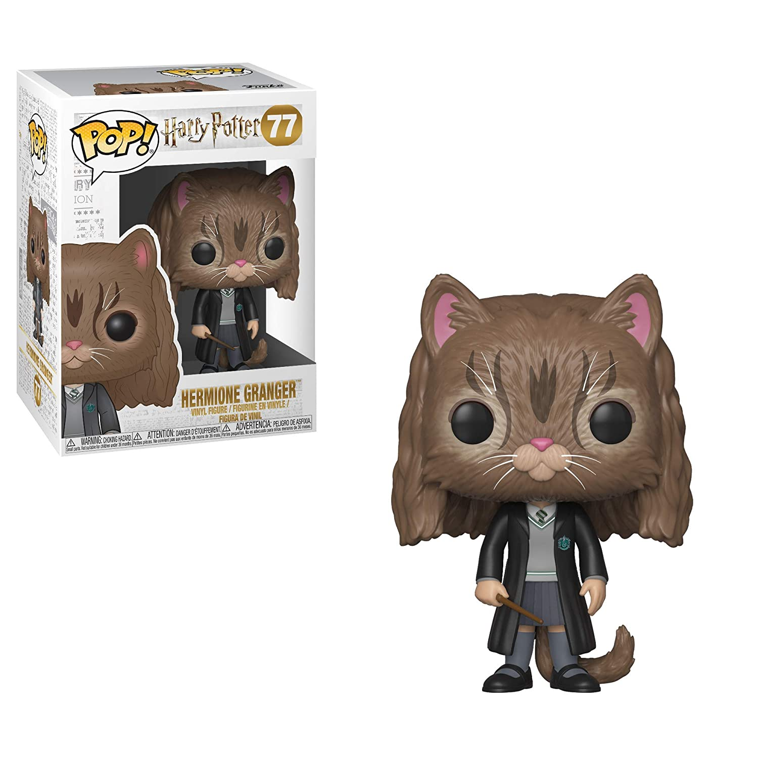 35509 Multicolor Funko 35509 POP Vinyl Harry Potter S5 Hermione Gato