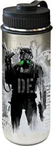 Vandor Star Wars R1 18 Ounce Vacuum Insulated Stainless Steel Water Bottle (99109)