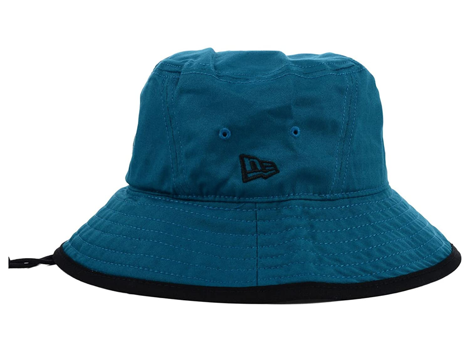 5d0b423c3d4 Amazon.com   San Jose Sharks NHL New Era Tipped Teal Bucket Boonie Hat    Sports   Outdoors