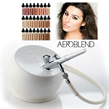Amazon Com Deluxe 2 0 Battery Aeroblend Airbrush Makeup Pro