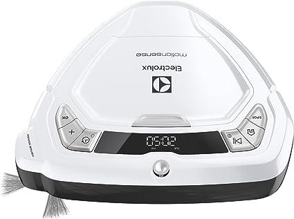 Electrolux ERV5100LW Robot aspiradora triangular programable, blanco ...