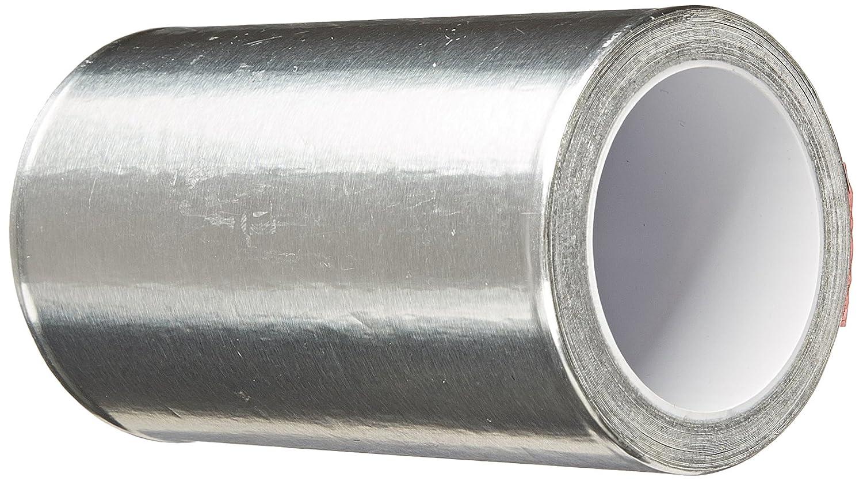 TapeCase 4-5-438 438 4in X 5yd Shiny Silver Aluminium Foil Tape