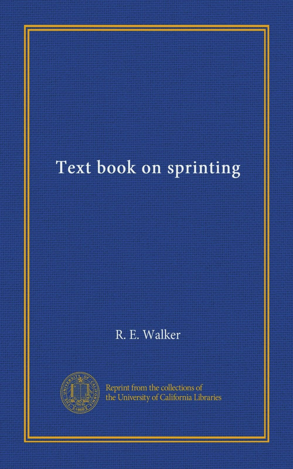 Download Text book on sprinting pdf epub