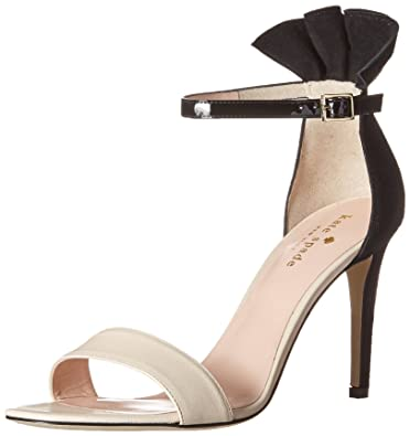 5aaa439b6b6b Kate Spade New York Women s Iris Dress Sandal Nude Black 9.5 ...