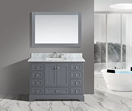 UrbanFurnishing.net   Jocelyn 48 Inch (48u0026quot;) Bathroom Sink Vanity Set