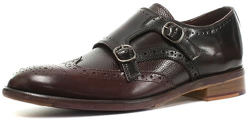 London Brogues - Mocasines de Piel para Hombre: Amazon.es: Zapatos y complementos
