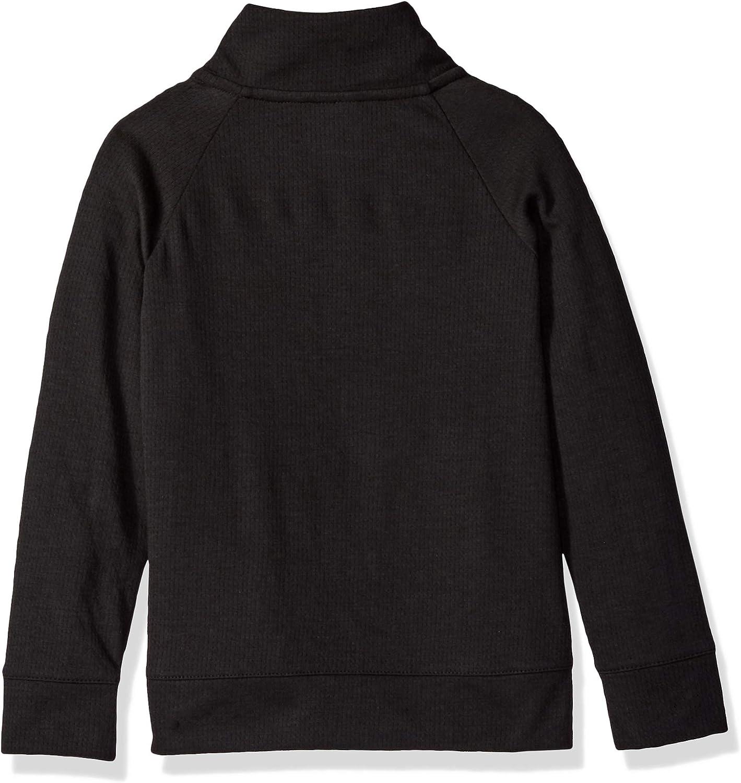 NFL Carolina Panthers Unisex 1//4 Zip Sweatshirt Black 4T