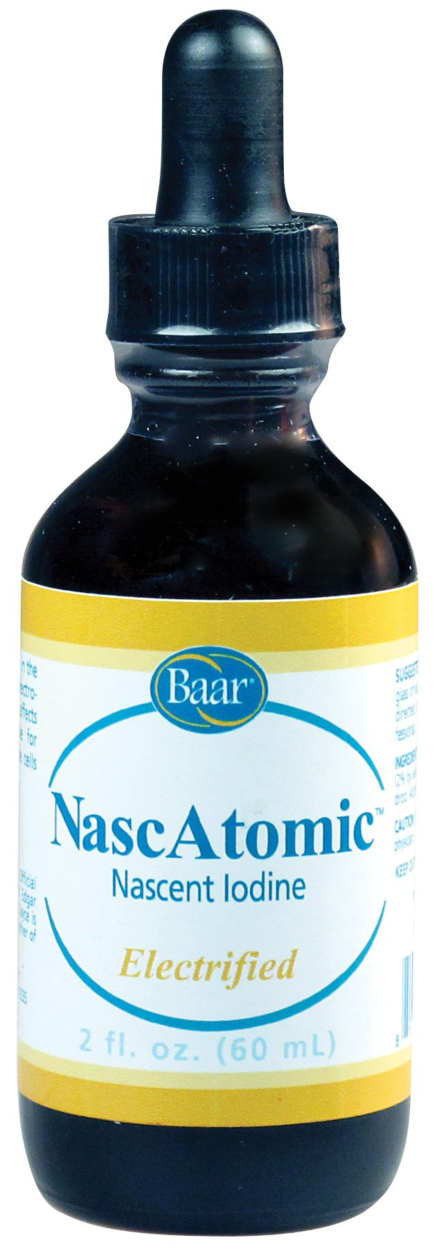 NascAtomic, Electrified Nascent Iodine 2%, 2 fl. oz. by Baar