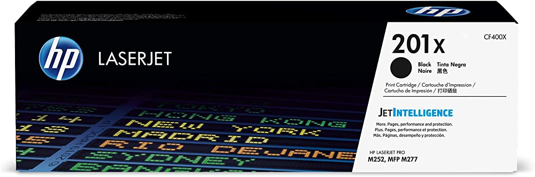 CF400X Toner Set for HP 201X Color LaserJet Pro MFP M277dw M277 M252dw M252