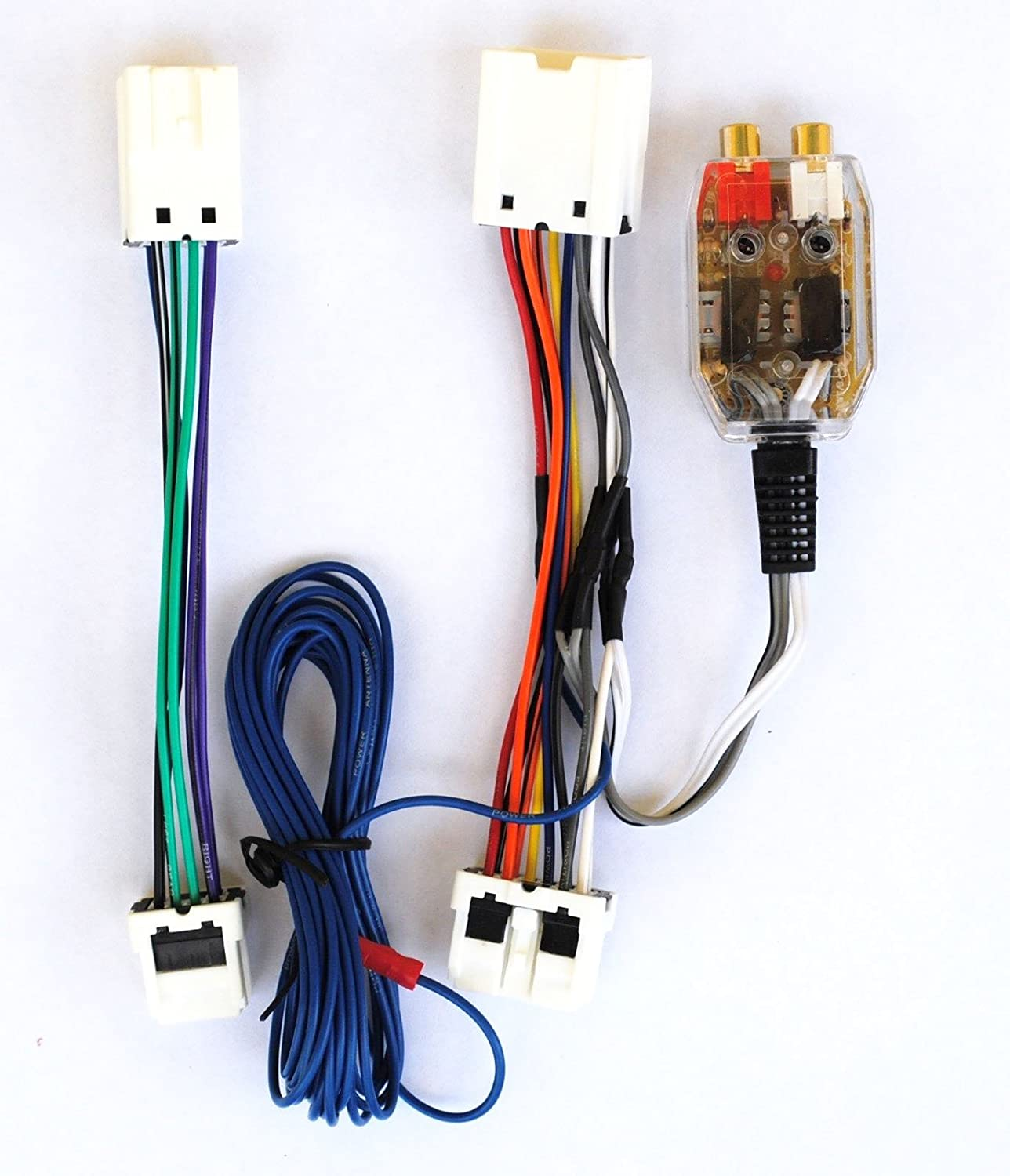 Amazon.com: Amplifier Amp Interface Adapter Wiring Wire Harness fits  Infiniti Nissan: Cell Phones & Accessories