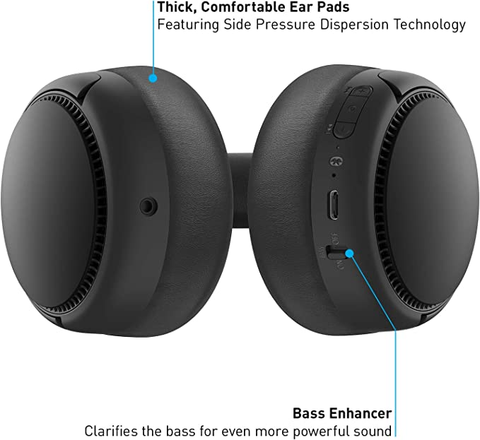 Panasonic Rb M300be C Bluetooth Over Ear Headphones Elektronik