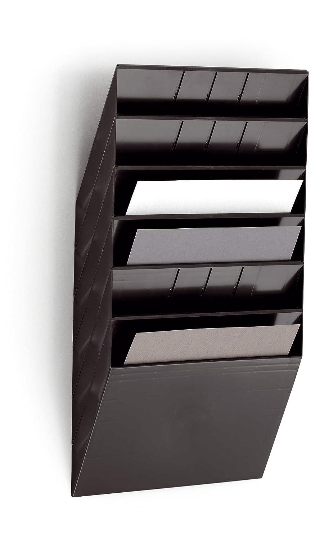 Durable 1709781010 Prospektspenderset 1 Set weiss Flexiboxx 12 A4 Querformat