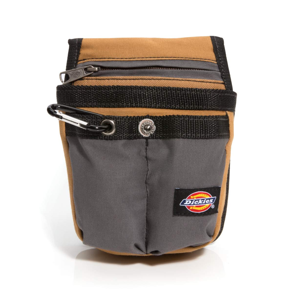 Dickies Work Gear 57005 Grey/Tan Tool Pouch with Security Zipper Pocket
