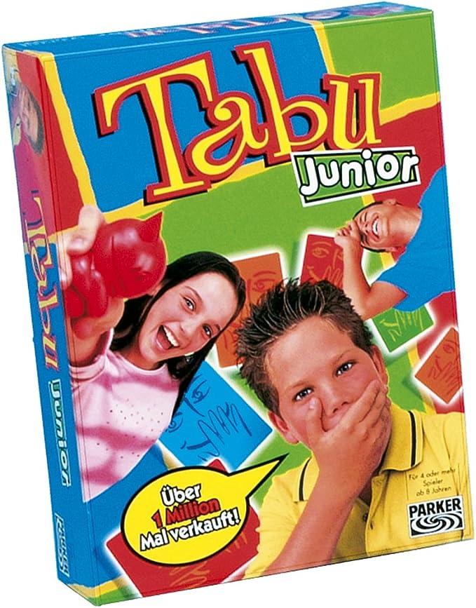 Hasbro Parker 12600100 - Tabú Junior: Amazon.es: Juguetes y juegos