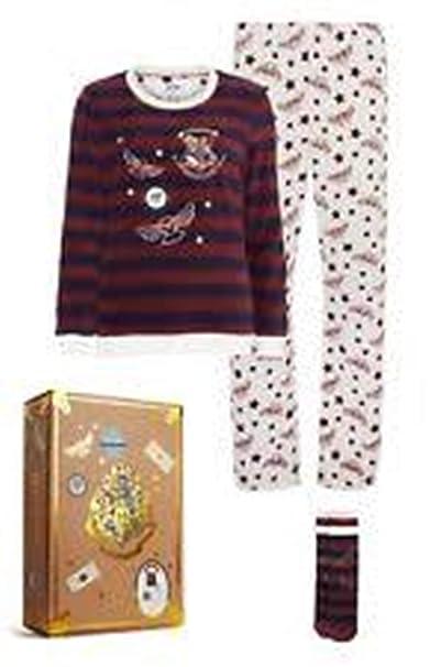 23628b963 Licensed-Primark - Pijama - para Mujer Rojo Granate L  Amazon.es  Ropa y  accesorios