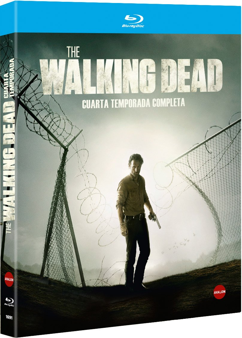 The Walking Dead - Temporada 4 2013 *** Europe Zone ***: Amazon.co ...