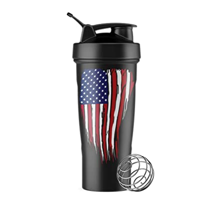 0cb984fd1 Amazon.com : Tactical Pro Supply BPA Free Water Bottle (USA Flag ...