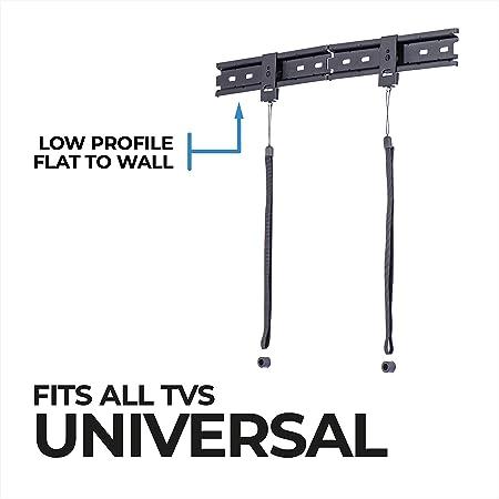 Amazon Basics Essentials Flache Universal Tv Halterung Elektronik