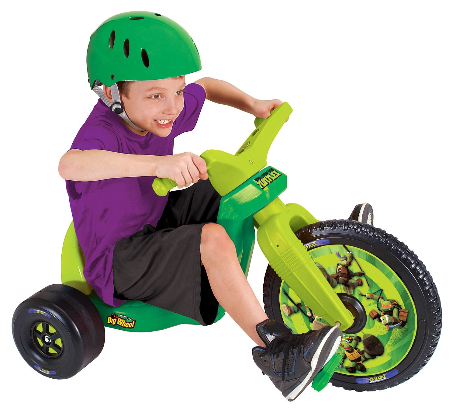 Big Wheel 16'' Teenage Mutant Ninja Turtles Racer by The Original Big Wheel