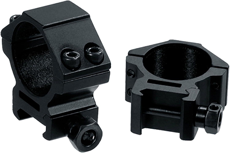 7. UTG 30mm/2PCs Low Profile Picatinny/Weaver Rings