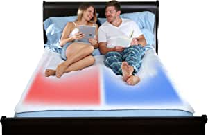 Queen ChiliPad Cube - Dual Zone - Heating and Cooling Pad - Fits Your Existing Mattress, Delivers Precise Temperature Control, and Creates the Perfect Sleep Environment