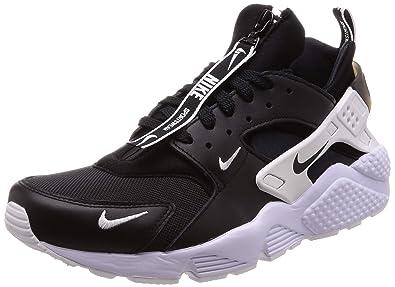 online store 490e5 13363 Nike Herren AIR Huarache Run PRM Zip Multisport Indoor Schuhe, schwarz  BlackWhite 001