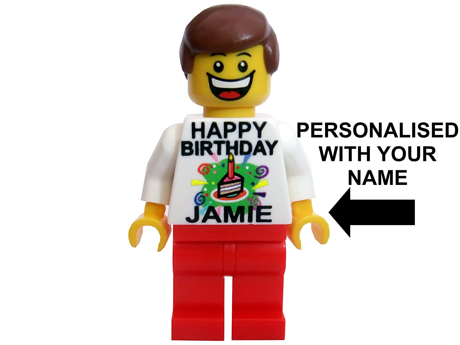 personalised lego movie birthday card Amazoncouk Kitchen Home – Lego Birthday Card
