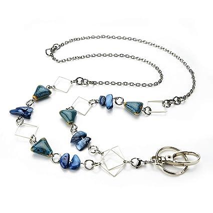 Amazon.com   LUXIANDA Colorful Women s Fashion Lanyard Unique Lanyard  Jewelry Lanyard Badge ID Holder 9a4803e20c
