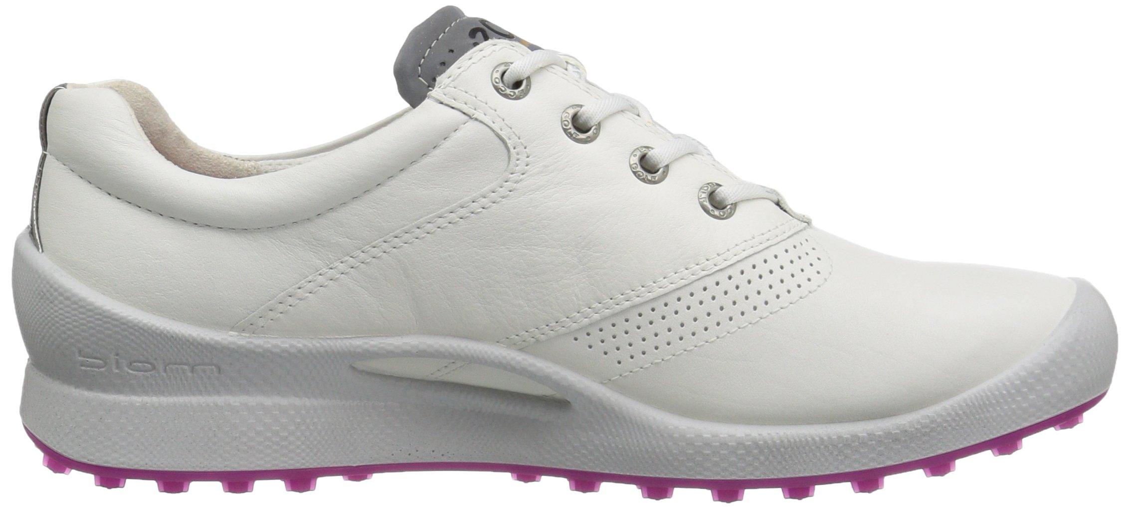 ECCO Women's Biom Hybrid Hydromax Golf Shoe, White/Candy, 39 EU/8-8.5 M US by ECCO (Image #7)