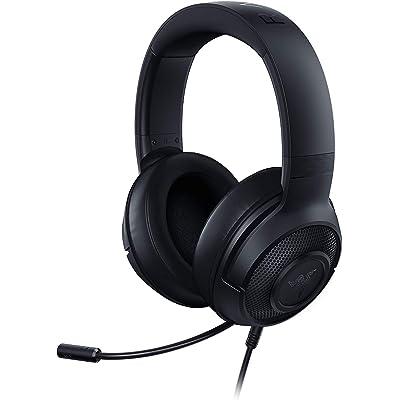 Razer Kraken x 7.1 Auriculares Gaming con Sonido Envolvente con Compatibilidad Multiplataforma, Ergónomico y ligero; 250 g peso, Color Negro