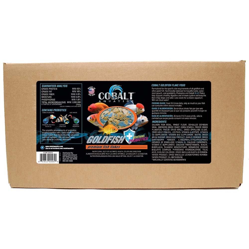 Cobalt Aquatics goldfish color Flake, 10 lb