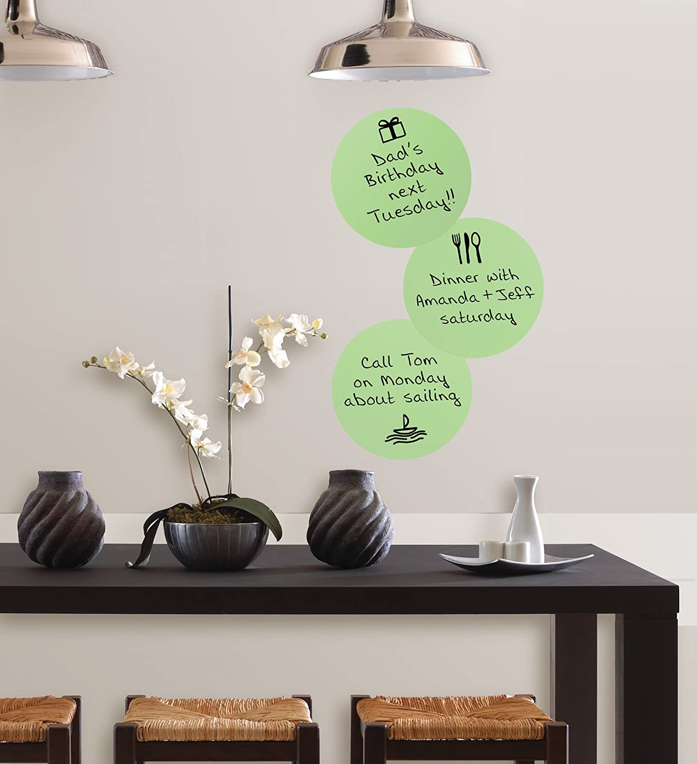 & Amazon.com: Oh Pear Dry Erase Dot Decals: Home Improvement